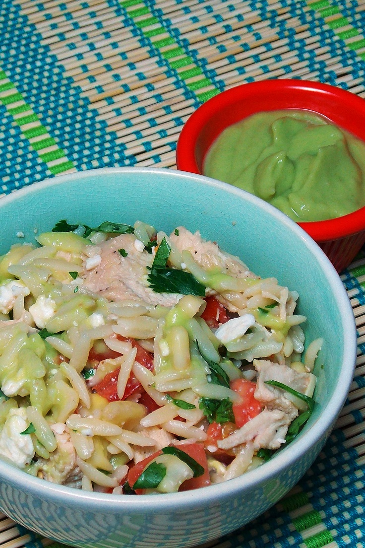 Orzo Chicken Salad