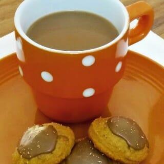 Pumpkin-Spice Latte Cookies