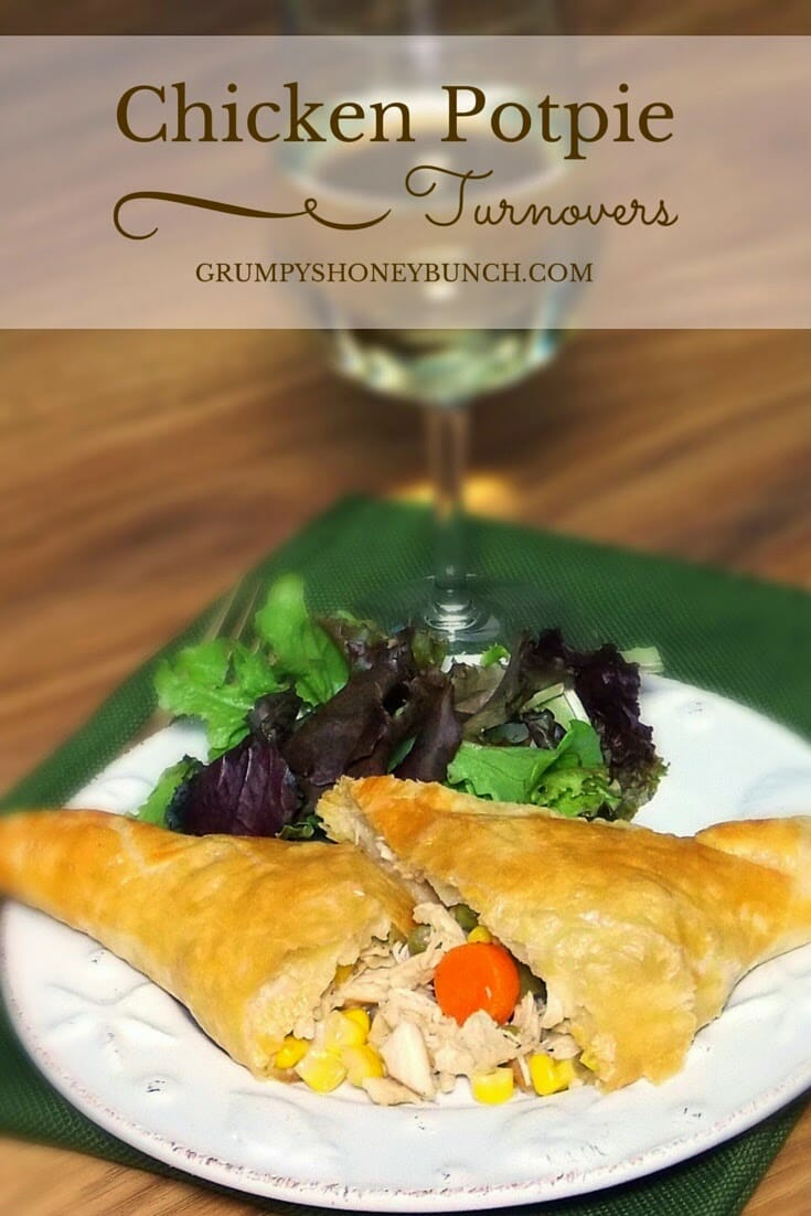 Chicken Potpie Turnovers