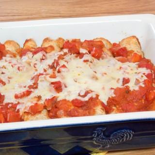 Chipotle Butternut Squash Enchiladas