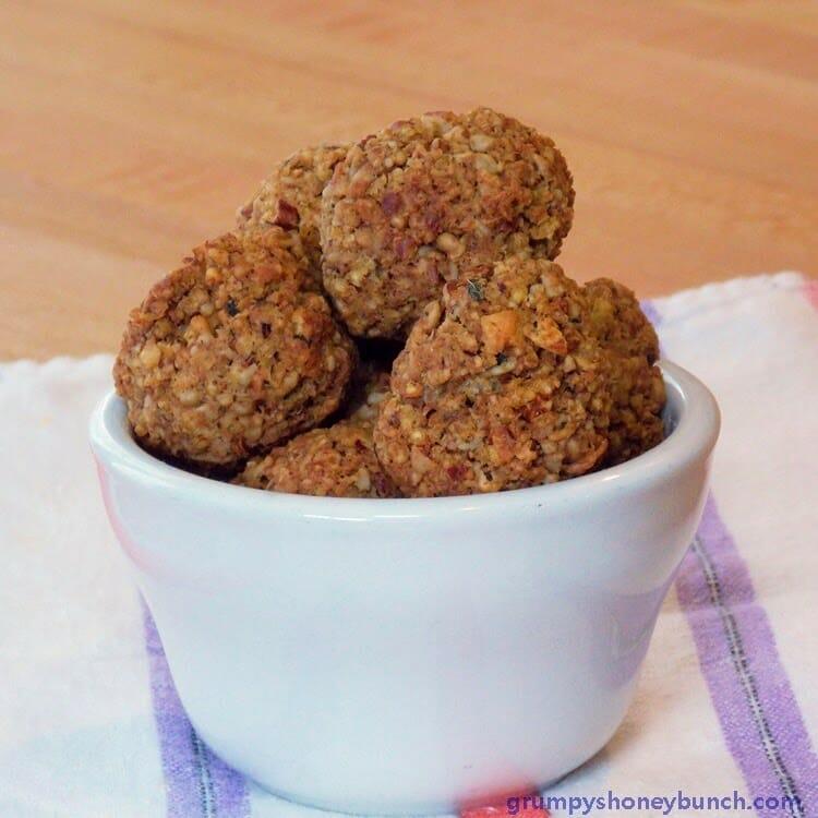 Moms Millet Meatballs