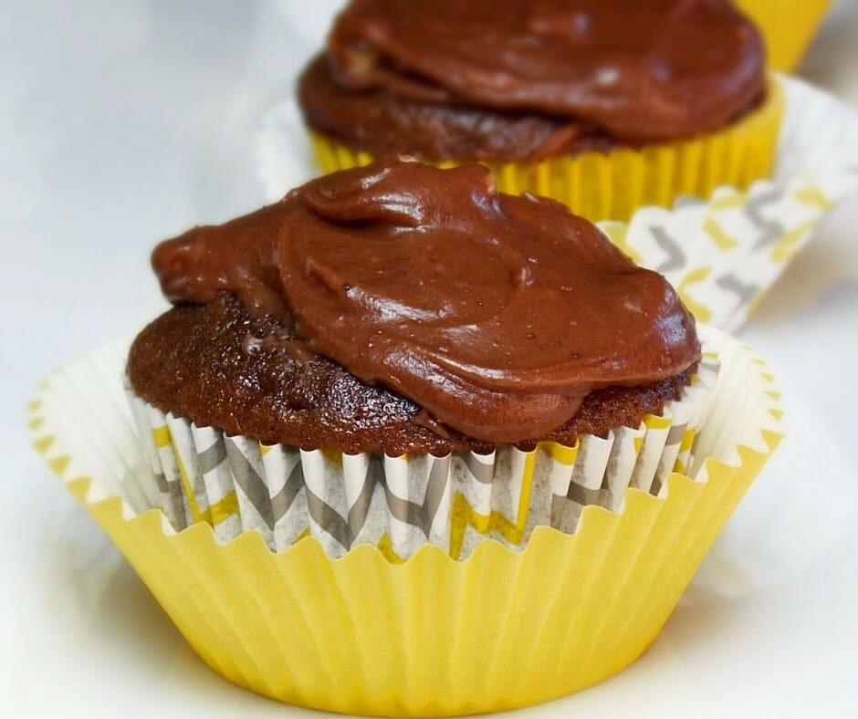 Texas Sheetcake Cupcakes