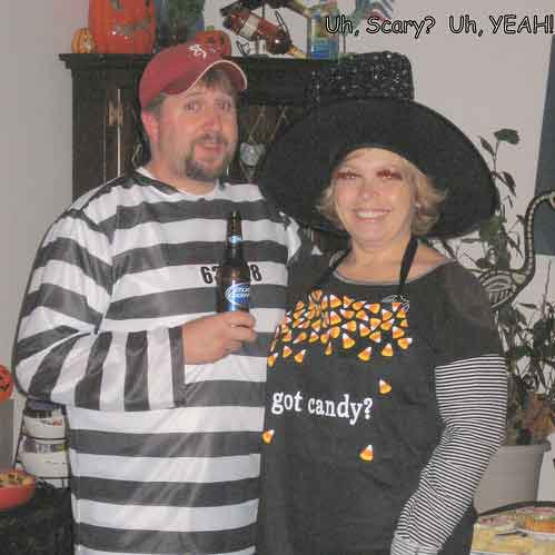 Grumpy and Honeybunch Halloween Party