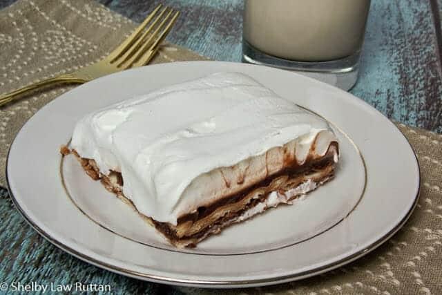 Magic Pudding Dessert for