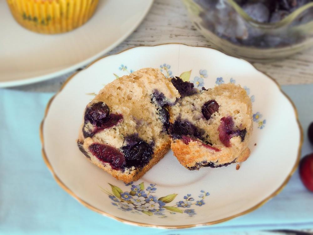 Berry-Cherry Muffins