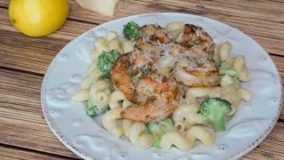 Shrimp Broccoli Cavatappi