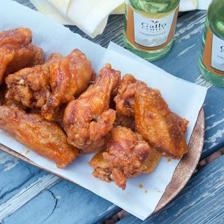 Crispy Maple Hot Wings