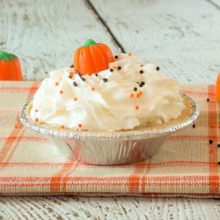 Mini Pumpkin Toffee Cream Pie #EffortlessPies