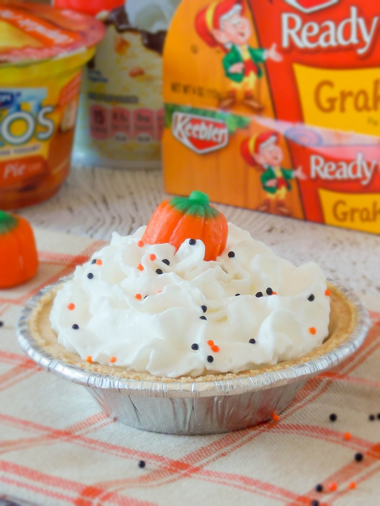 Mini Pumpkin Toffee Cream Pie