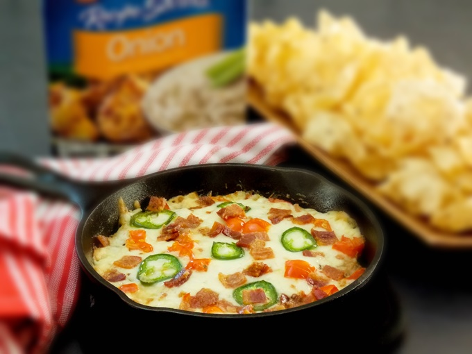 Cheesy Jalapeño Bacon Cheeseburger Dip
