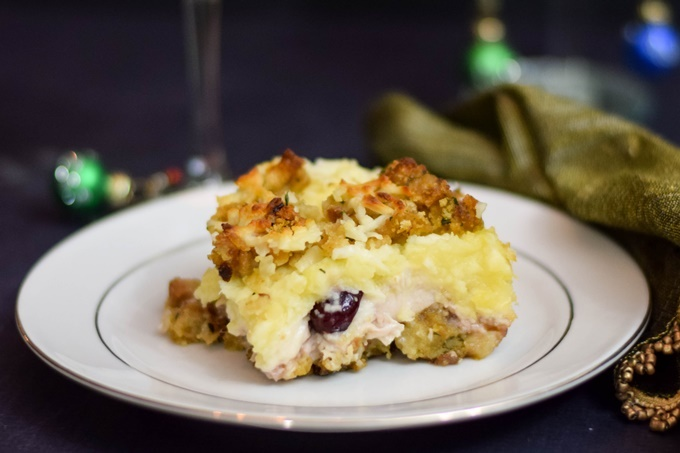 Leftover Thanksgiving Turkey Casserole
