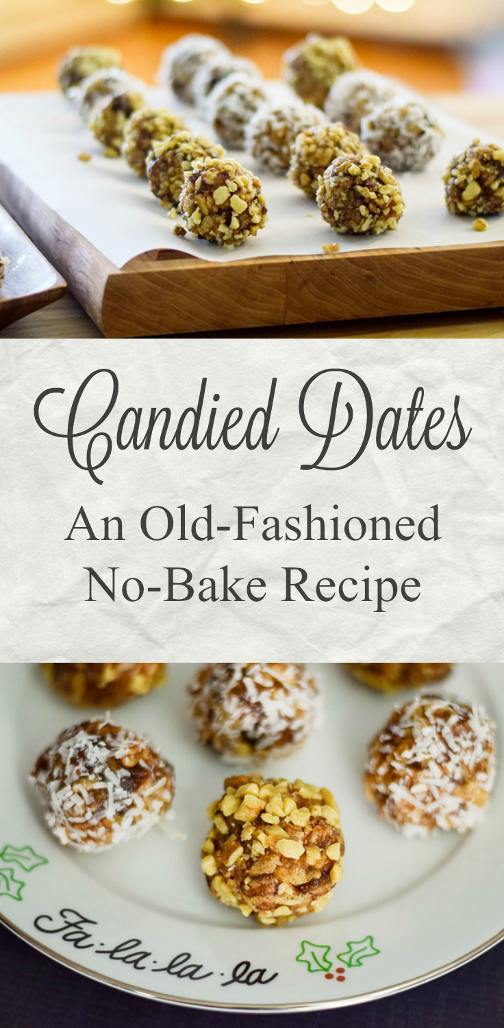 Candied Dates Pinterest