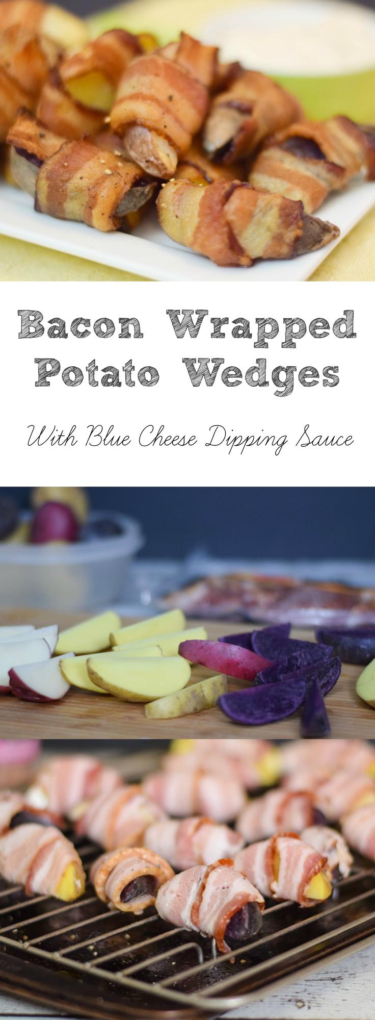 Bacon Wrapped Potato Wedges
