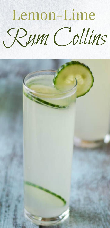 Lemon-Lime Rum Collins