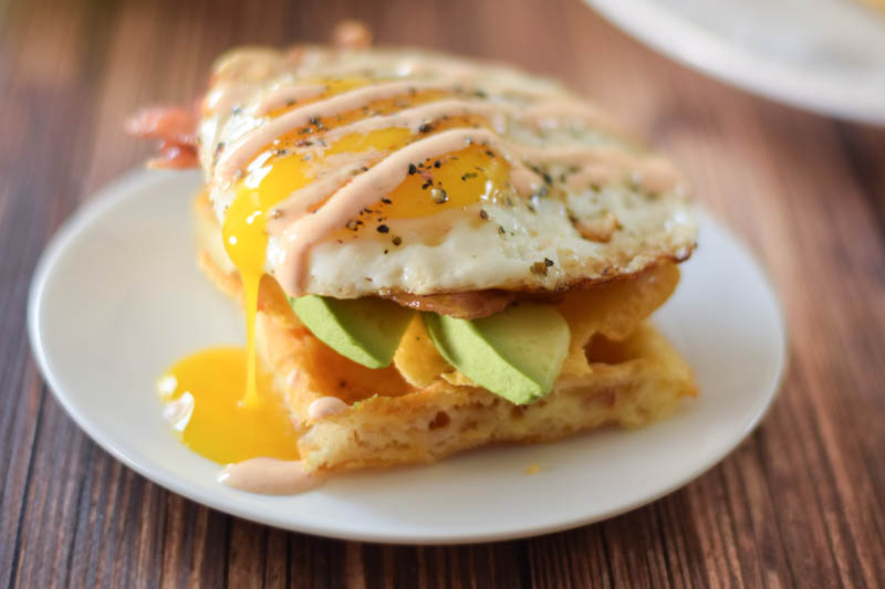 Waffle Egg Sandwiches – low carb recipe