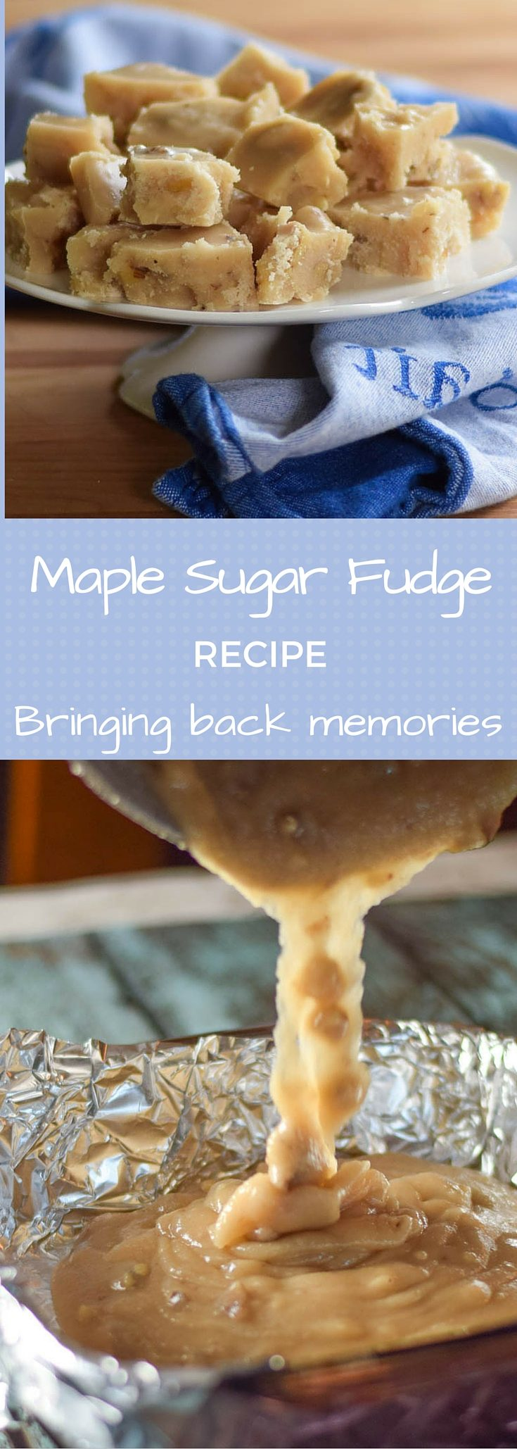Maple Sugar Candy #fudge #candy #maple #syrup