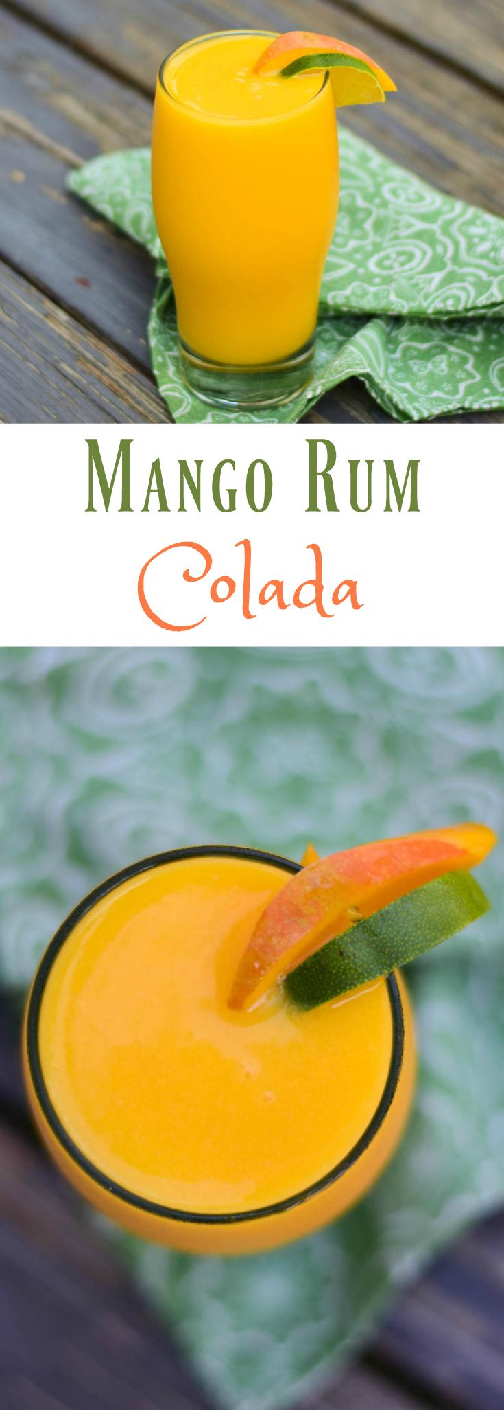 Mango Rum Colada Pinterest