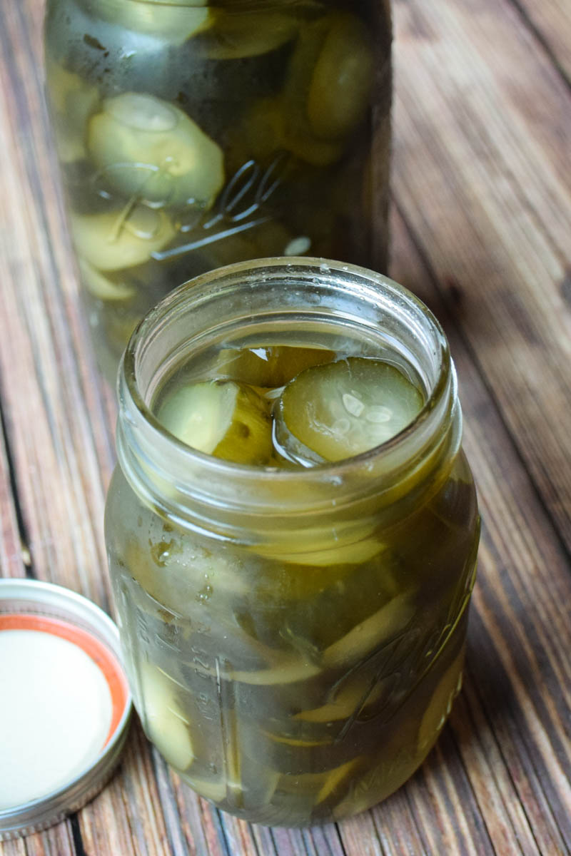 Nanny's 7 Day Sweet Pickles