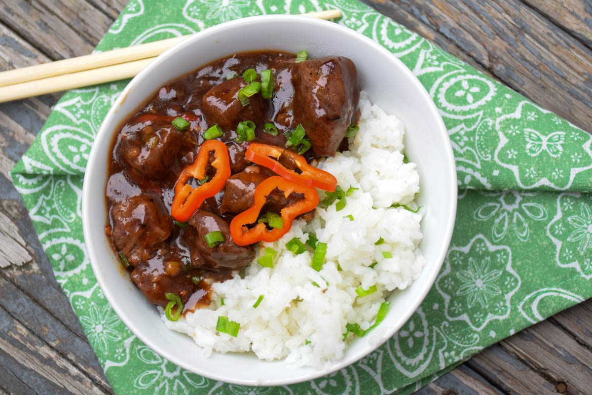 Spicy Asian Venison Bowl