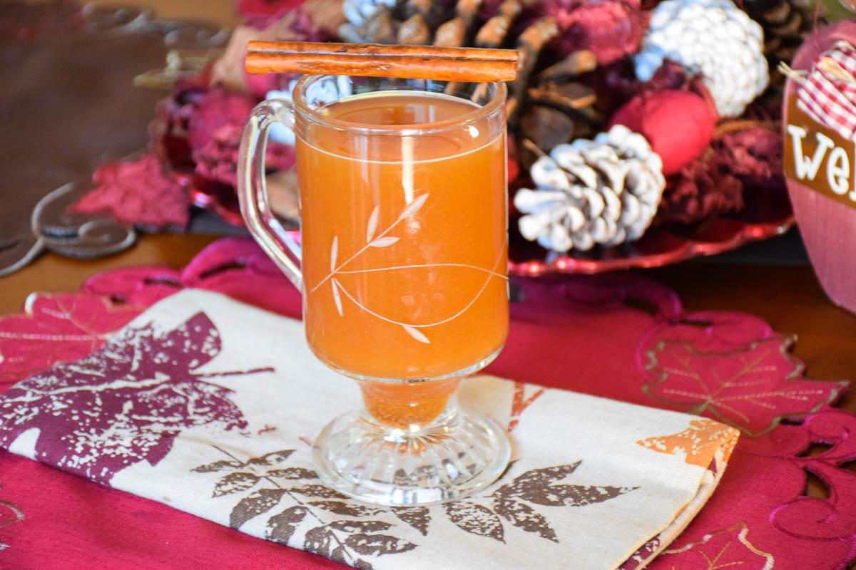 Hot Fireball Apple Cider – a warm you up drink!