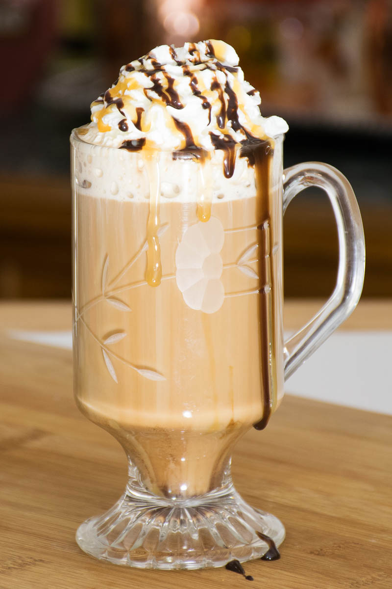 Salted chocolate caramel Mocha