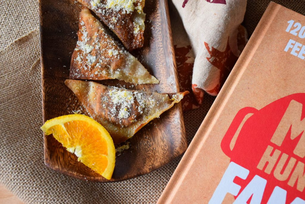 Chocolate Hazelnut Orange Potstickers