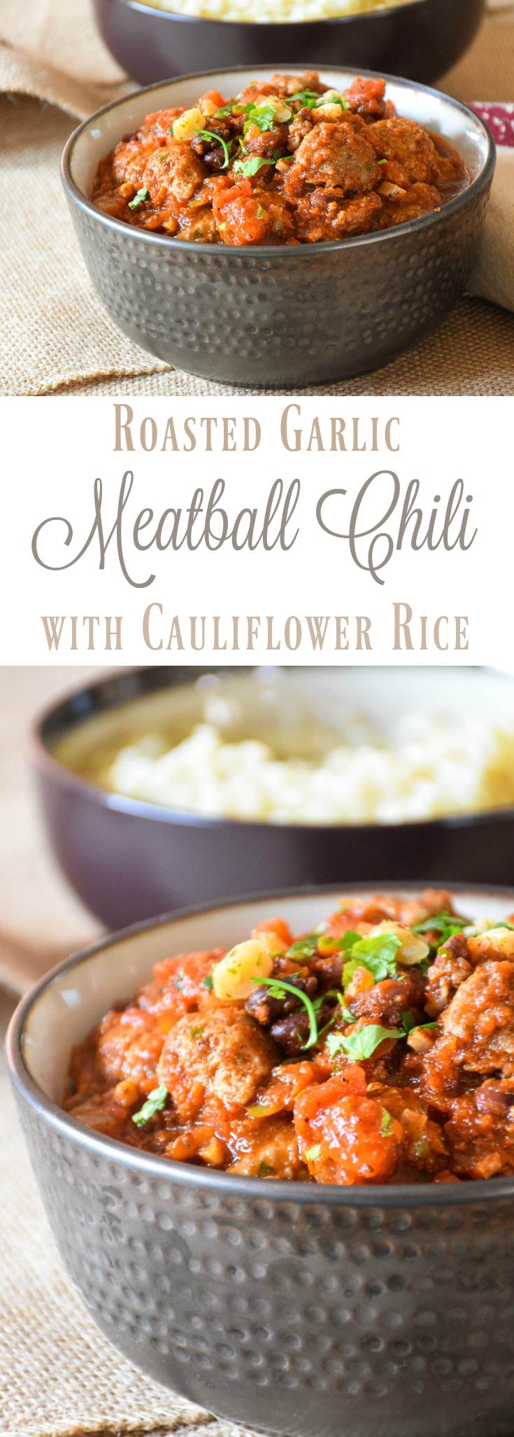 Meatball Chili