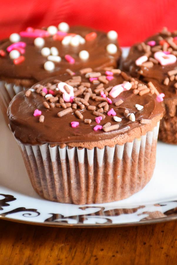 Valentine's Day Recipe for Chocolate Espresso Cupcakes