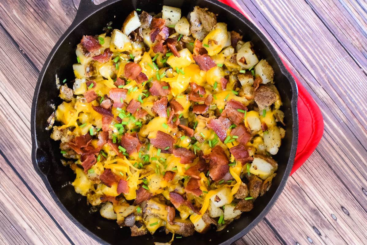 Cheesy Bacon Home Fries