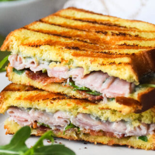 Grilled Ham and Blue Cheese Sandwich