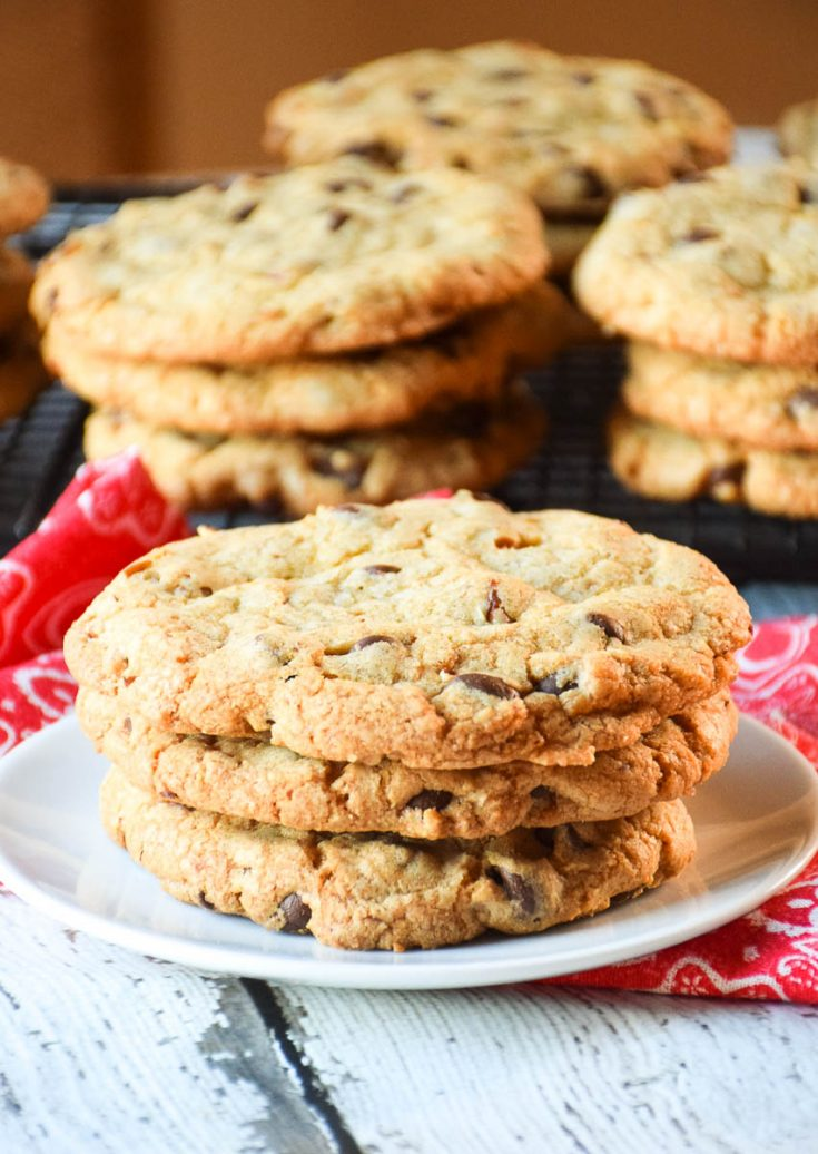 Chocolate Chip Pecan Cookies #chocolate #chips #chocolatechip #pecan #cookies #baking