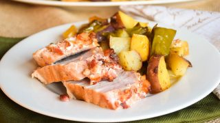 Sheet Pan Pork Loin with Roasted Vegetables