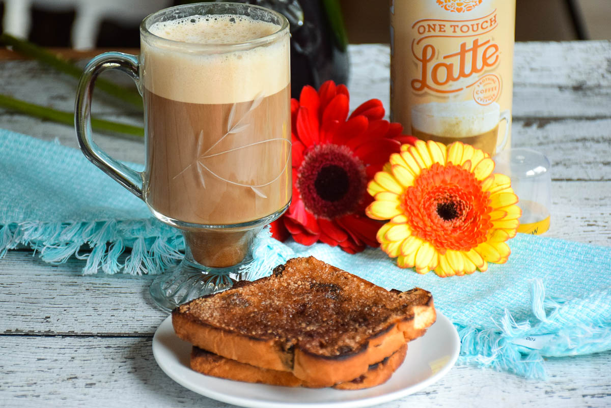 Mom's Caramelized Cinnamon Toast #LatteMadeEasy