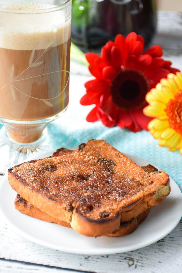 Caramelized CInnamon Toast