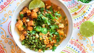 Coconut Curry Tofu Bowl