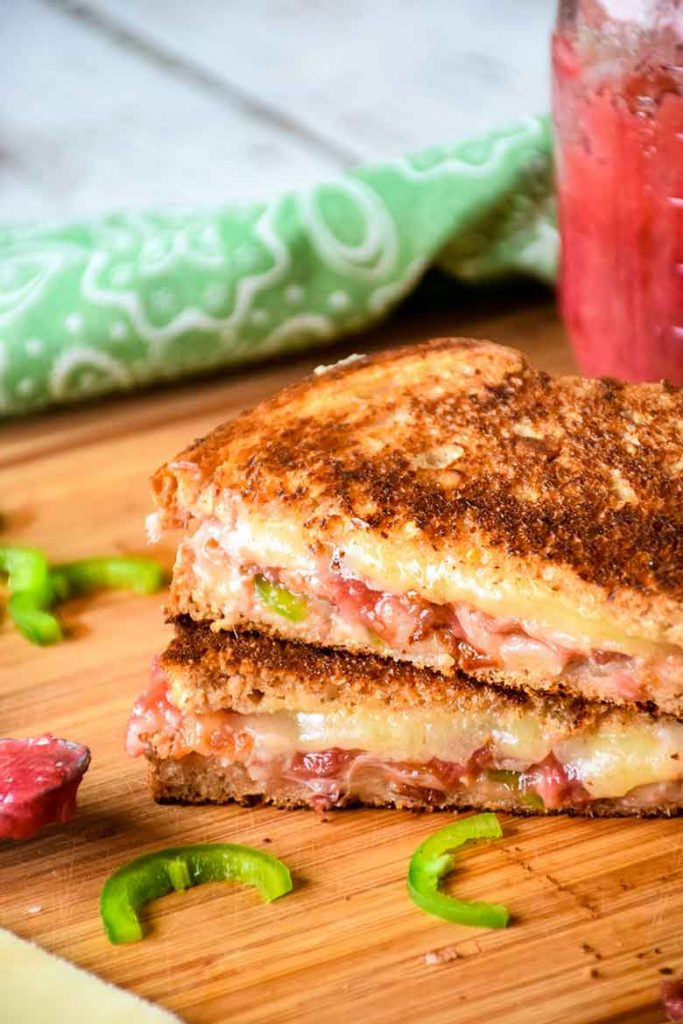 Bacon Jalapeno Cheddar Grilled Cheese