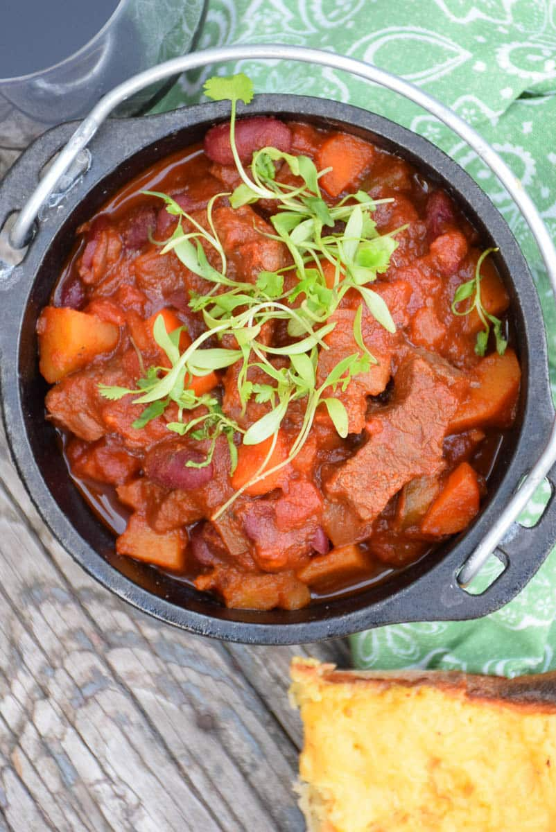 Beef and Butternut Chili