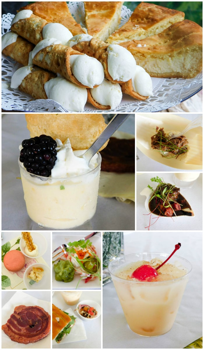 A Taste of the Gables Food Collage