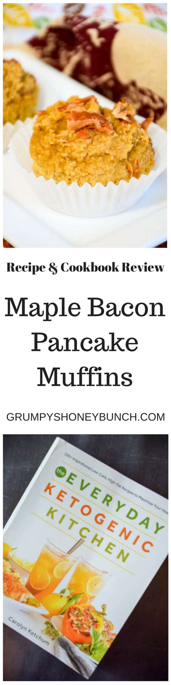 Everyday Ketogenic Cookbook Review - Maple Bacon Pancake Muffins