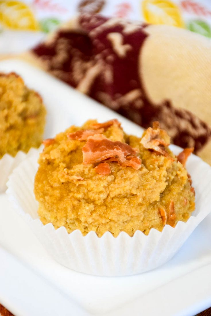 Maple Bacon Pancake Muffins #ketorecipe, cookbook review #breakfast #muffins