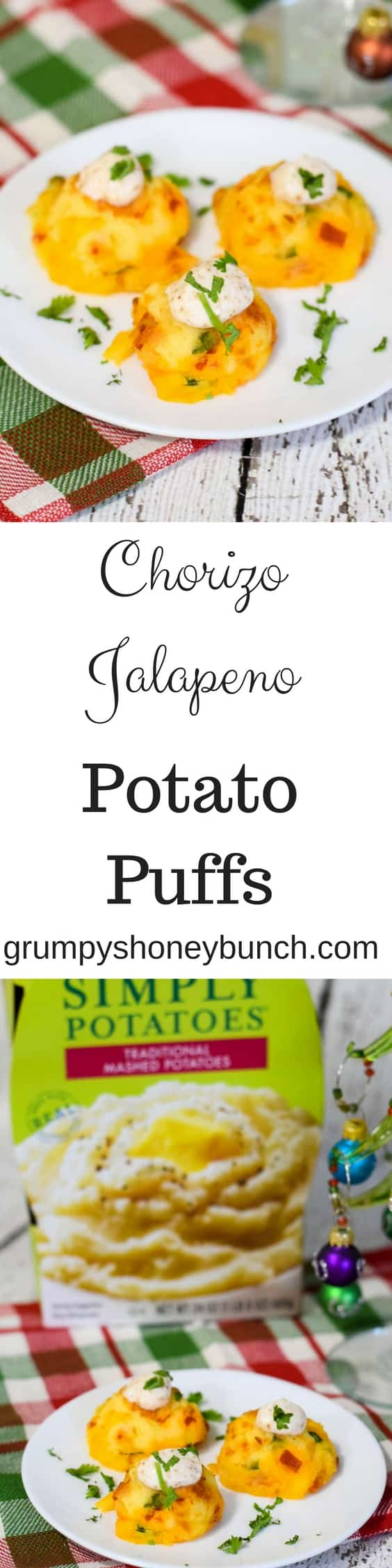 Chorizo Jalapeno Potato Puffs