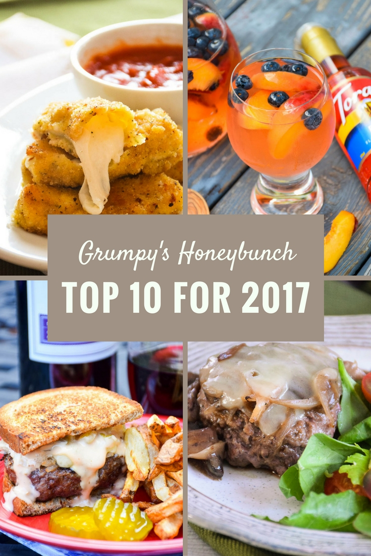 Grumpy's Honeybunch Top 10 Recipes for 2017