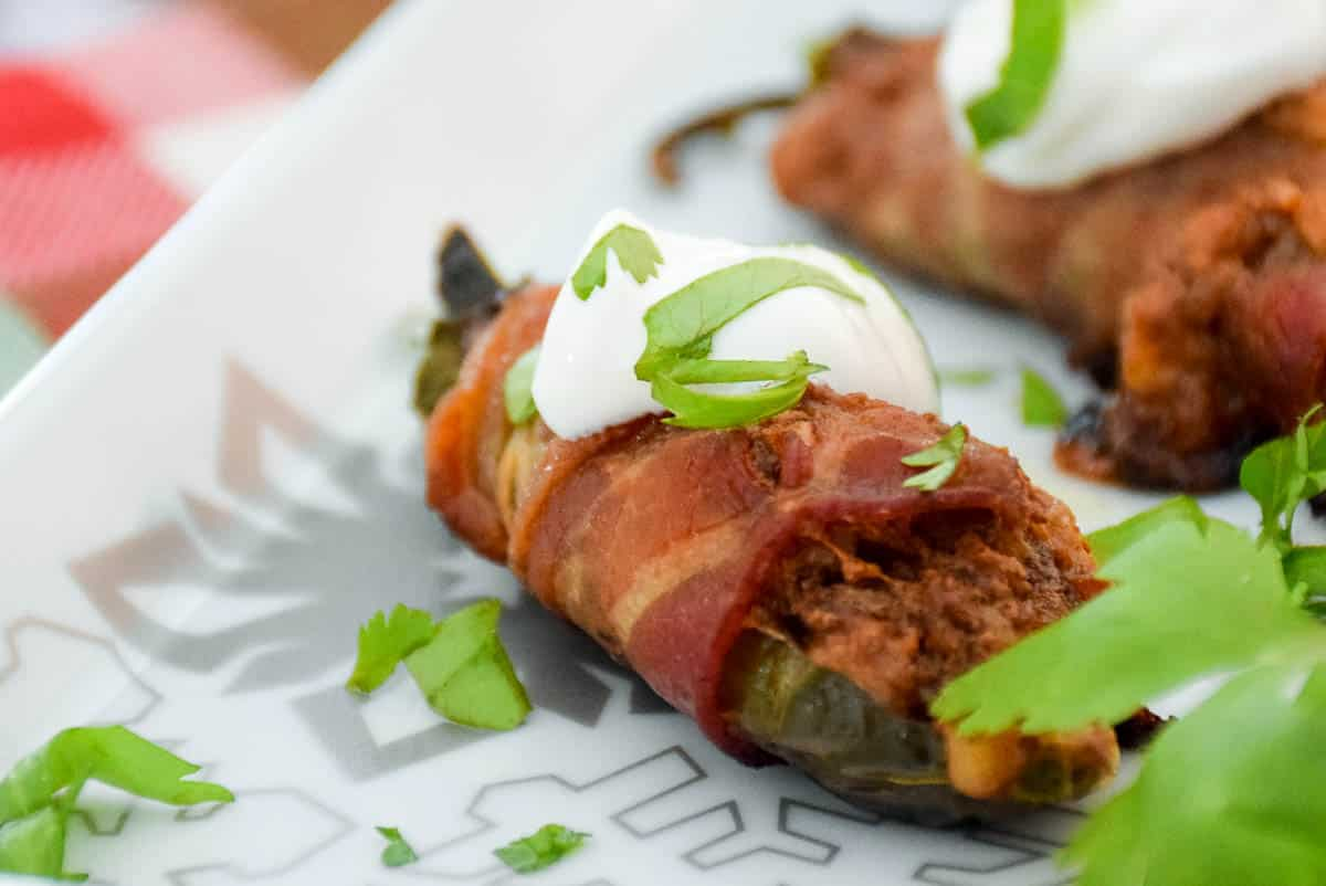 Bacon Wrapped Stuffed Jalapenos – Veal Recipe