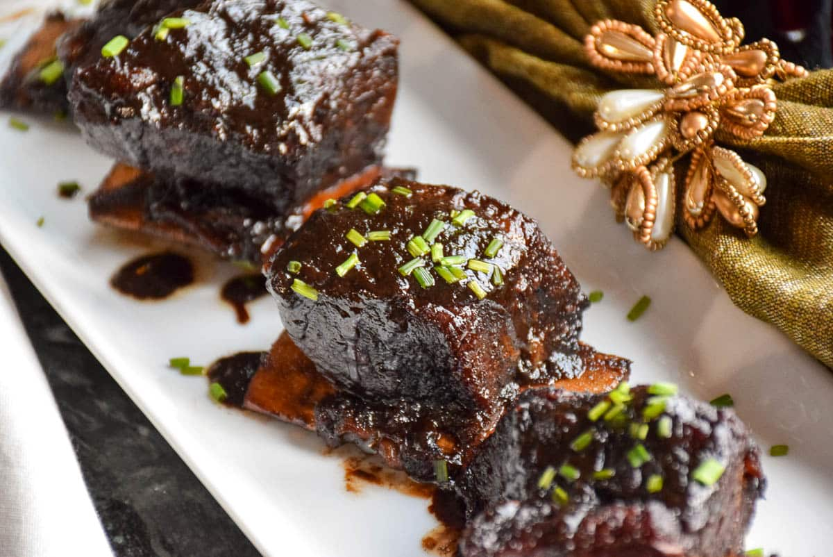 Sweet Chili Braised Beef Short Ribs