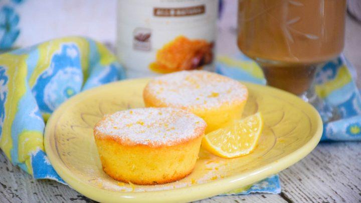 Lemon Cheesecake Muffins