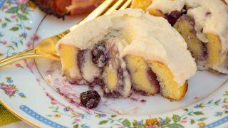 Keto Blueberry Sweet Rolls