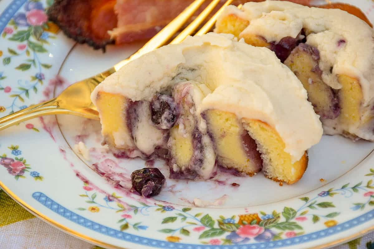 Blueberry Sweet Rolls – Keto Recipe