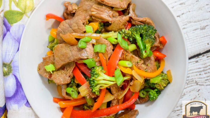 Keto Spicy Beef and Broccoli Stir Fry