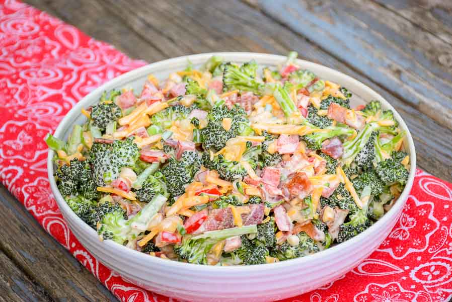 Broccoli Salad - Keto Recipe