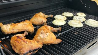 Firemen's Field Day Barbecue Chicken